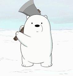 Ice Bear We Bare Bears, We Bear, Bear Cartoon, Cartoon Icons, Cute Disney Wallpaper, Cute Cartoon Wallpapers, Bear Meme, We Bare Bears Wallpapers, Cute Love Memes