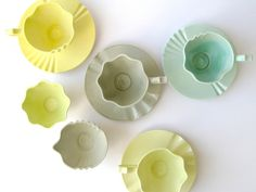 Sorbet, a new collection of fine bone china tableware by Material Pleasures
