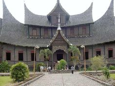 Istana Pagaruyung, West Sumatra, Indonesia