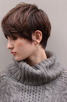 The Most Beautiful Wedding Hairstyles Asian Short Hair, Medium Short Hair, Short Hair Cuts, Japanese Short Hairstyle, Pixie Hairstyles, Pixie Haircut, Short Hairstyles For Women, Veil Hairstyles, Bowl Haircut Women
