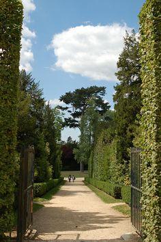 In the garden of Versailles
