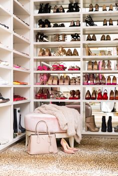 7 Easy Steps To A Beautiful, Clutter-Free Closet Like Rach Parcell's  - Store your shoes from InStyle.com