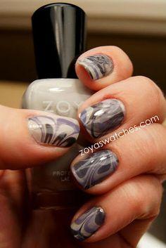 Water Marble - Zoya Caitlin, Zoya Dove, Zoya Kelly