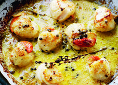grilled-scollops-with-garlic