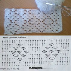 Hottest Pic Crochet Blanket diagram Tips This is an accumulation of crochet tips and tricks in making your crocheting much easier and more pr Filet Crochet, Poncho Crochet, Crochet Lace Edging, Crochet Motifs, Crochet Diagram, Crochet Stitches Patterns, Crochet Chart, Thread Crochet, Crochet Designs