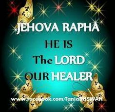 Lord our healer.