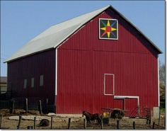 I always love to see the barn quilts of Sac County!!  I love Iowa....