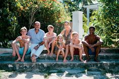 India Hicks and her family at home in Harbour Island