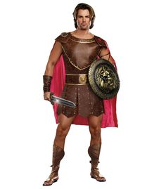 Amazon.com: Dreamguy by DG Brands Men's Greek God Costume, Hercules: Clothing