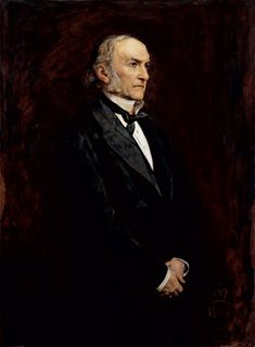 Sir John Everett Millais, 1879, William Ewart Gladstone. Oil on canvas. The portrait was done in five or six hours.