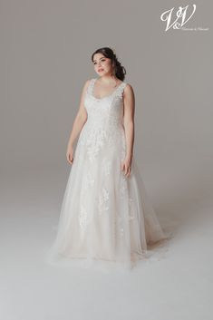 A romantic plus size wedding dress. Very high quality lace. Perfect for a classic church wedding. Under church wedding Romantic Plus Size Wedding Dress with an open back and beautiful lace details Backless Wedding, Wedding Gowns, Wedding Motifs, Church Wedding, Plus Size Wedding, Contemporary Fashion, Romantic Weddings, Wedding Trends, Bridal Collection