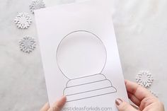Snow Globe Template Card All activities should be supervised by an adult. This post may contain affiliate links. Family Christmas Cards, Christmas Card Crafts, Christmas Card Template, Christmas Messages, Xmas Cards, Christmas Activities, Christmas Ideas, Diy Snow Globe, Snow Globes
