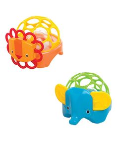Another great find on #zulily! Oball Rollie Rattle - Set of Two #zulilyfinds