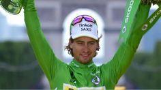 Sagan gets another green jersey. Halo, Cycling, Baseball Hats, Sports, Nice, Green, Photos, Fashion, Bicycling