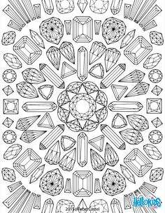 these mandala graphics look like precious stones color this mandala graphics coloring page with all your bright colors or use the online interactive