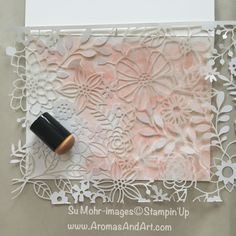 Aromas and Art - Page 22 of 132 - Su Mohr, Independent Stampin' Up! Demonstrator, and Independent Young Living Distributor Card Making Tips, Card Making Techniques, Making Ideas, Stampin Pretty, Stampin Up, Laser Cut Paper, Specialty Paper, Stamping Up Cards, Die Cut Cards