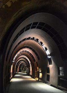 #Architecture Voie piétonne, Silvia Dagna Serena Galassi Simona Maurone architectes associés, Albisola Superiore (Italie), 2011