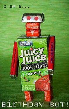 robot juice box