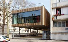architecture #paris #france #cantilever