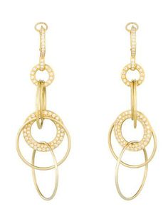 1.5ctw Diamond Set Drop Earrings