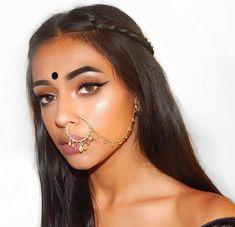 - Makeup Looks Korean Indian Makeup Looks, Indian Wedding Makeup, Bridal Makeup Looks, Indian Girl Makeup, Creative Makeup, Simple Makeup, Natural Makeup, Indian Makeup Simple, Make Up Looks