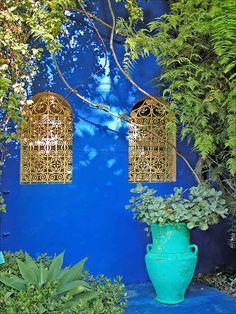 La villa Majorelle in #Marrakech, #Morocco