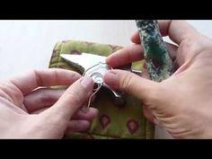 wire copper bird necklace - DIY project
