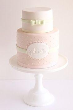 baptisim/ christening cake