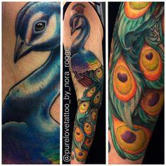 Tattoo-Foto: ♥ Pfau Arm Tattoo ♥