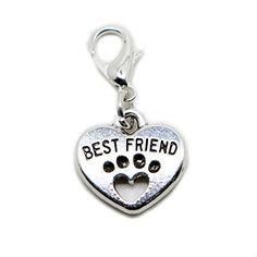 Best Friend Heart Paw Print silver tone charms Pendant fo... https://www.amazon.co.uk/dp/B06X6D8QKY/ref=cm_sw_r_pi_dp_x_wZW.ybDCJCCJ3