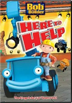 Bob the Builder - Here to Help DVD