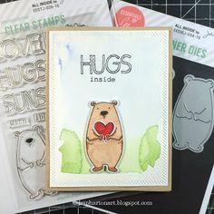 Art♥from♥the♥Heart: {Ellen Hutson Mini Video} Hugs Inside