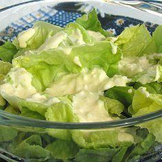 Sos do zielonej sałaty. Salad Recipes, Keto Recipes, Cooking Recipes, Healthy Recipes, Vinaigrette, Green Lettuce, Vegan Junk Food, Vegan Sushi, Vegan Smoothies