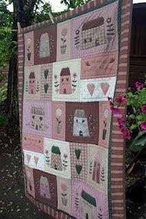 Tilda's Quilt #patchwork #quilt #tilda #pattern