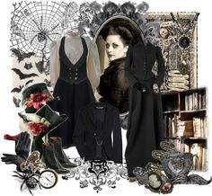 """""""Beatrice"""" by steampoweredgoth on Polyvore"""