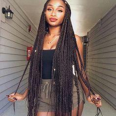 Lovvvvvveeeeeeeee long braids ahh