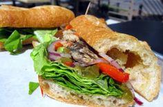 Sammies: Sardine sandwich.