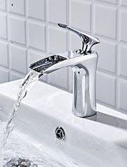 93 49 Bathroom Sink Faucet Widespread Chrome Centerset Single