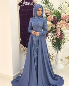 Sevintage Middle East Muslim Prom Dresses High Neck Saudi Arabic Lace Appliques Party Gowns Evening Gowns with Detachable Skirt Muslim Prom Dress, Muslim Evening Dresses, Muslimah Wedding Dress, Hijab Evening Dress, Hijab Style Dress, Evening Dresses Online, Prom Dresses, Formal Dresses, Hijabi Gowns