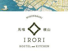 IRORI HOSTEL and KITCHEN on Behance