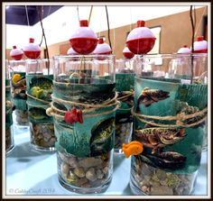 """The Cabby Crafter: [Events] """"Gone Fishing"""" Party Theme"""