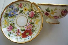 Antique Hammersley and Company tea cup and by BeatriceBeeVintage, $69.00