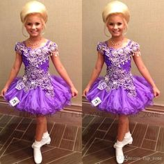 Girls Red Dresses Luxury Short Glitz Little Girl'S Pageant Dresses For Teens With Spaghetti Straps Crystal Light Purple Toddler Kids Ritzee Girl Cupcake Gowns Girls Spring Dresses From Flip_zone, $89.58| Dhgate.Com