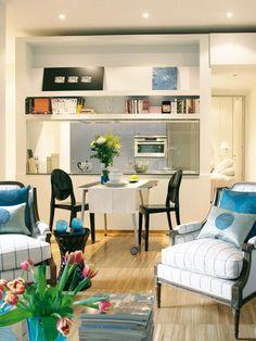 Querido Refúgio - Decoração: Ganhar espaço com mesas dobráveis ou extensíveis