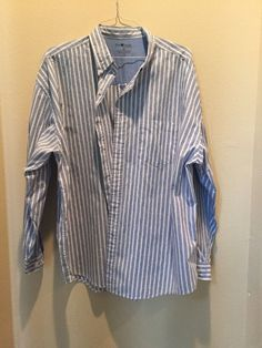 Mens Sun River Clothing Co. Size XXL Long Sleeve Button Up Casual Shirt…
