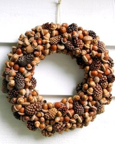 DIY Autumn Wreaths that you can make yourself