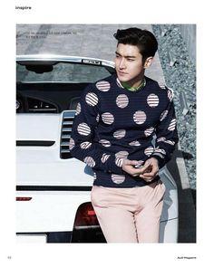 [PIC] 150409 Audi Magazine - Siwon (2)