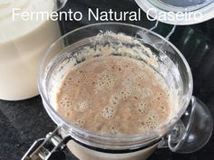 Vamos Fazer Pão?   05 Fermento Caseiro Natural - YouTube Pasta, Pancakes, Food And Drink, Pudding, Natural, Breakfast, Desserts, Youtube, Garlic Bread
