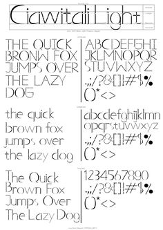 Ciawitali Light Font inspired by Batik Cimahi of Indonesia Light Font, Lowercase A, Cool Designs, Fonts, Inspired, Inspiration, Designer Fonts, Biblical Inspiration, Type Fonts