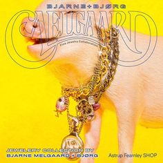 BJARNE MELGAARD + BJØRG Jewelry Art, Fine Jewelry, Jewellery, Collaboration, Chain, Jewels, Jewelry Shop, Jewerly, Jewelery